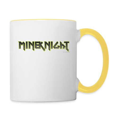 MineKnight mugg - Tvåfärgad mugg