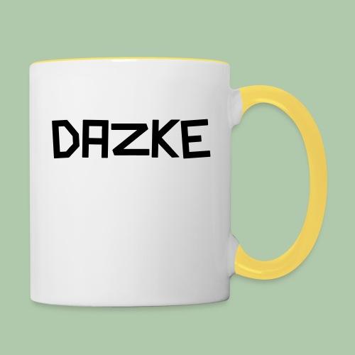 dazke_bunt - Tasse zweifarbig