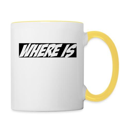 Where IS - Mug contrasté