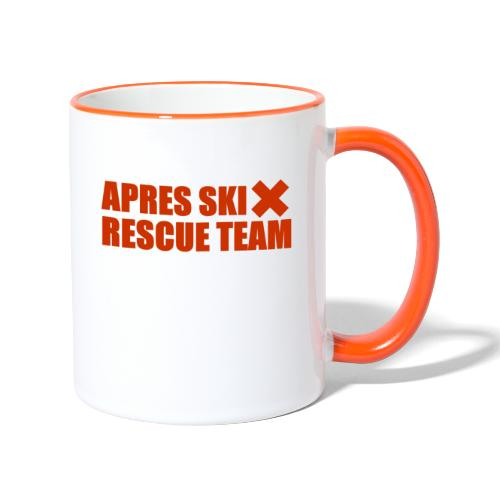 apres-ski rescue team - Mok tweekleurig