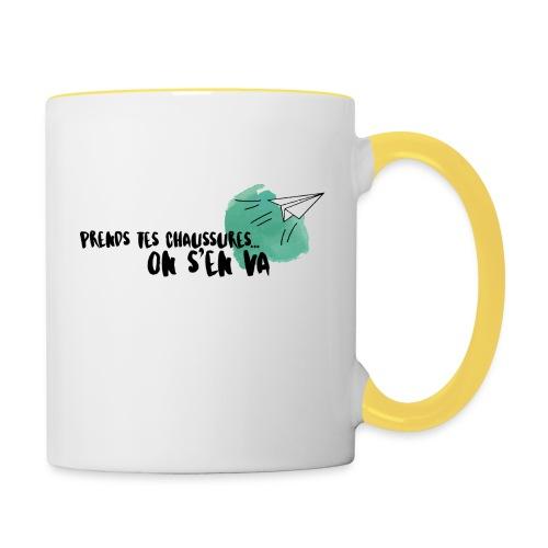 test - Mug contrasté