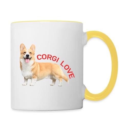 CorgiLove - Contrasting Mug