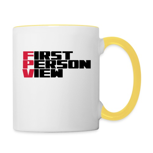 First Person View - Contrasting Mug