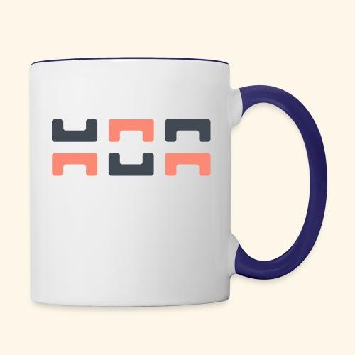 Angry elephant - Contrasting Mug