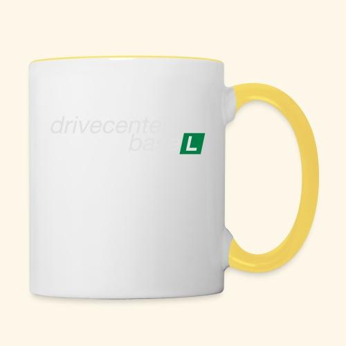 drive center logo - Tasse zweifarbig