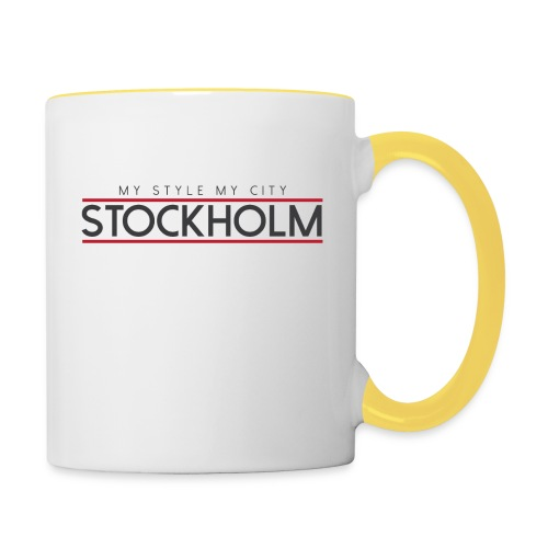 MY STYLE MY CITY STOCKHOLM - Contrasting Mug