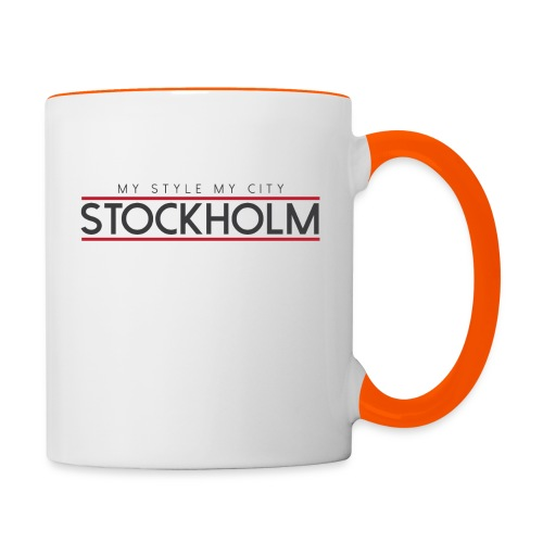 MY STYLE MY CITY STOCKHOLM - Contrasting Mug