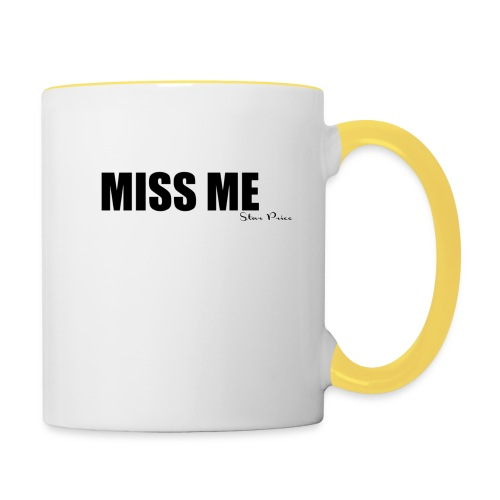 MISS ME - Contrasting Mug