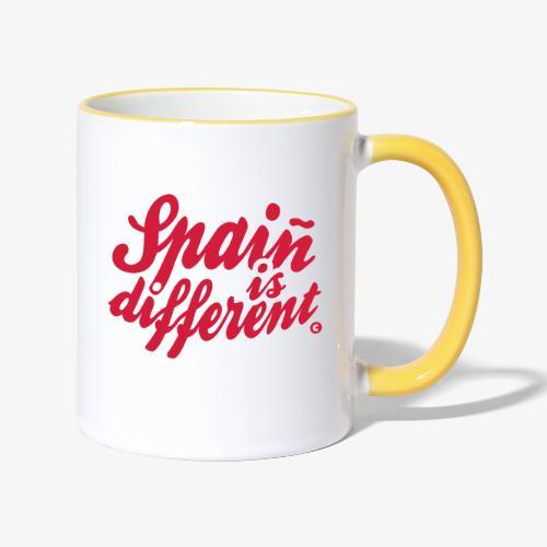 Spain is different con ñ - Taza en dos colores
