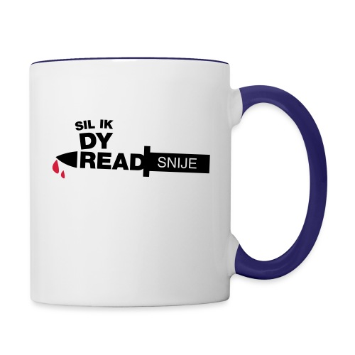 Read snije - Mok tweekleurig