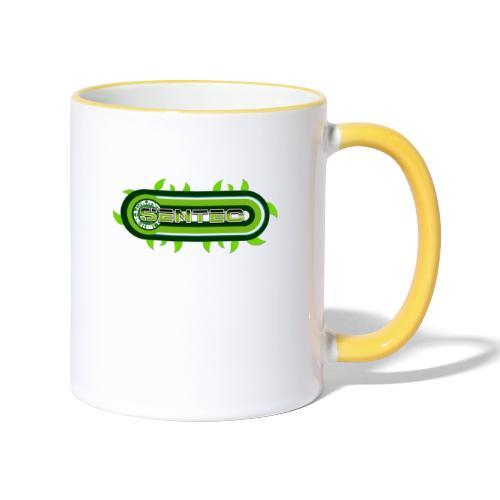 GREEN LOGO - Taza en dos colores
