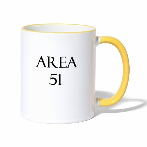 Area51 - tuotesarja - Kaksivärinen muki