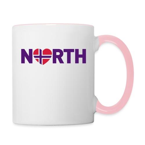 Nord-Norge på engelsk - plagget.no - Tofarget kopp
