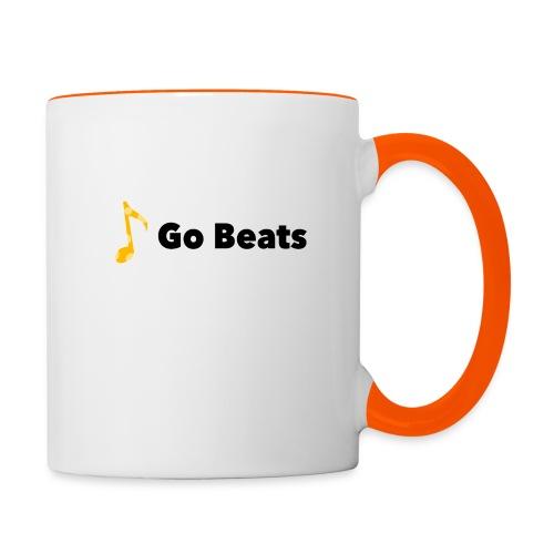 Logo with text - Contrasting Mug