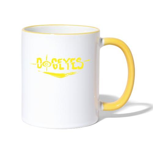 Dogeyes Logo - Contrasting Mug
