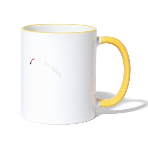 Angler - Tasse zweifarbig