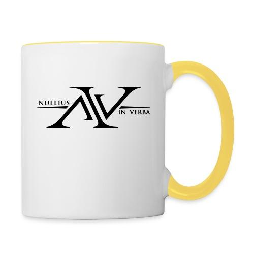 Nullius In Verba Logo - Contrasting Mug