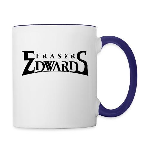 Fraser Edwards Men's Slim Fit T shirt - Contrasting Mug