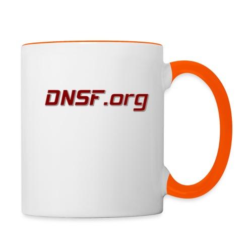 DNSF t-paita - Kaksivärinen muki