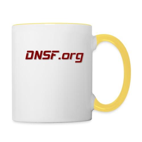 DNSF hotpäntsit - Kaksivärinen muki