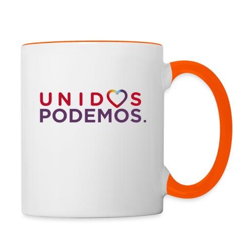 Taza Unidos Podemos 2016 Blanca - Taza en dos colores