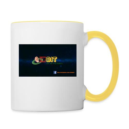 OhrBit Logo - Tasse zweifarbig