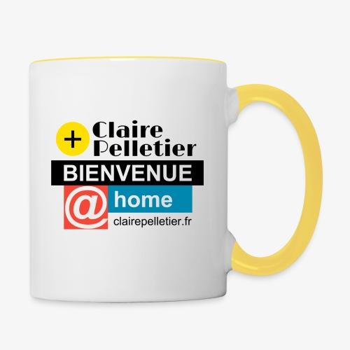 BIENVENUE @home - Mug contrasté