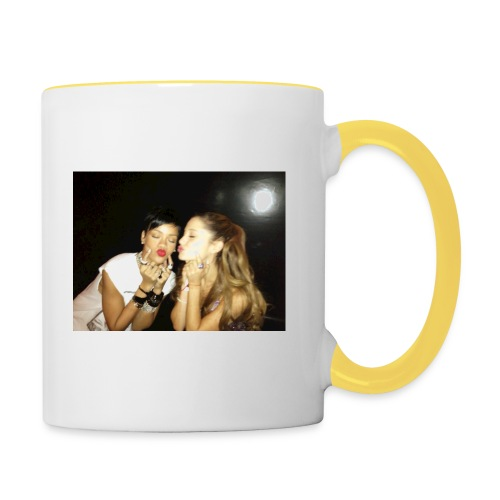 Grande et Fenty 960x720, 2 Chanteuses Américaines. - Mug contrasté