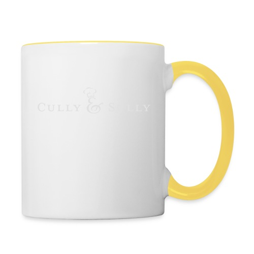 cands white - Contrasting Mug