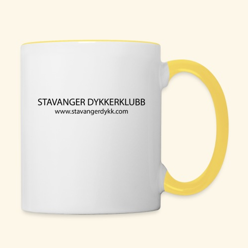 Stavanger Dykkerklubb - Tofarget kopp