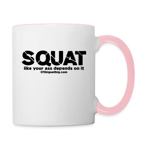 squat - Contrasting Mug