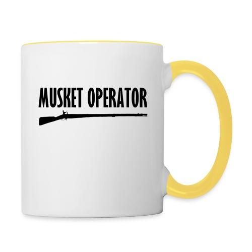 Musket Operator - Tasse zweifarbig