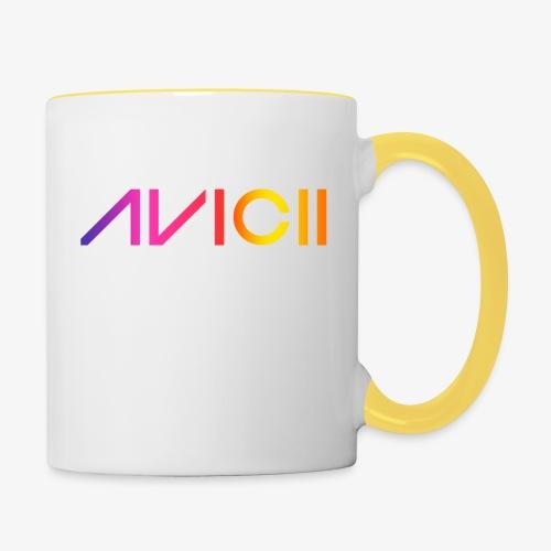 Color logo - Tvåfärgad mugg