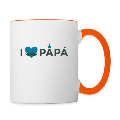 ik hoe van je papa - Mug contrasté