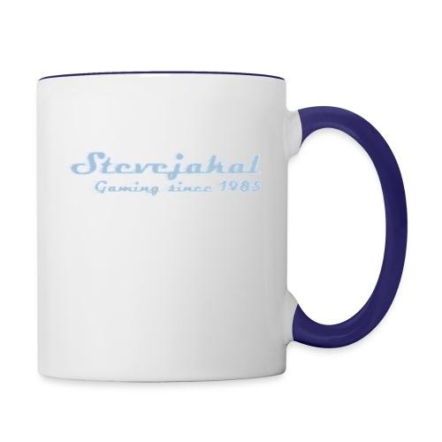 Stevejakal Merchandise - Tasse zweifarbig