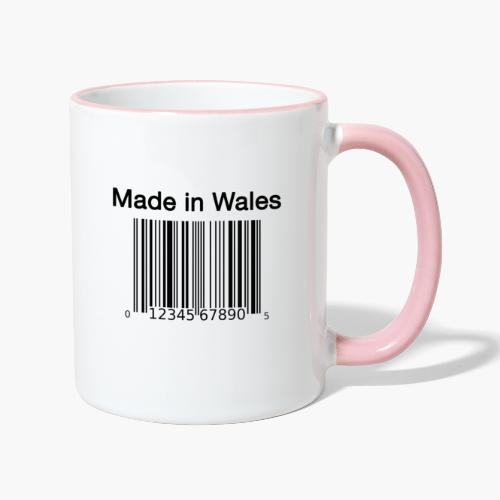 Made in Wales - Contrasting Mug