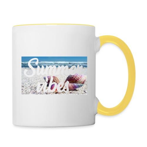 Summervibes - Tasse zweifarbig