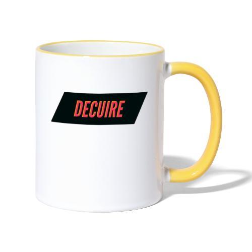 Decuire - Mug contrasté