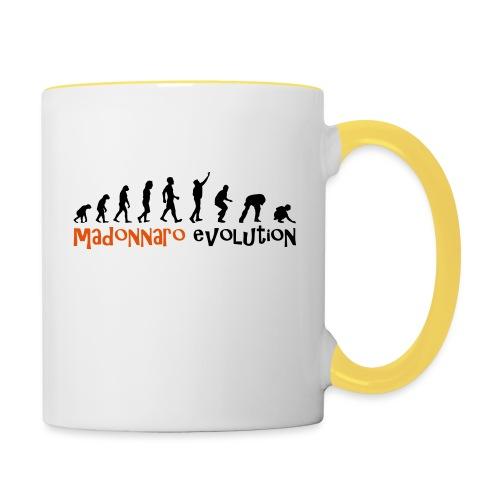 madonnaro evolution original - Contrasting Mug