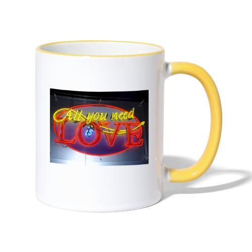 Love - Contrasting Mug