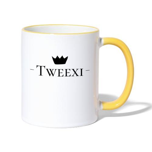Tweexi logo - Tvåfärgad mugg