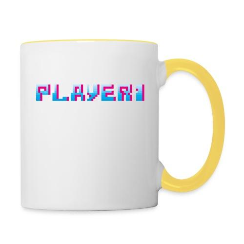 Arcade Game - Player 1 - Contrasting Mug