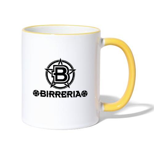 Logo Birreria 2021 Black - Tasse zweifarbig