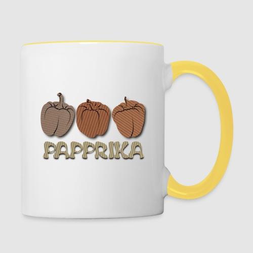 PaPPrika - Tasse zweifarbig