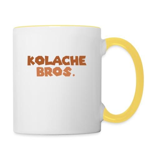 Kolache Bros. Logo Cap - Tasse zweifarbig