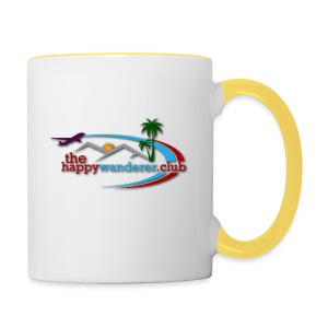 The Happy Wanderer Club - Contrasting Mug