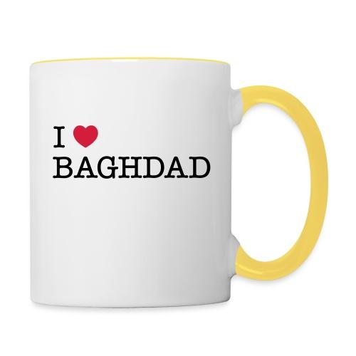I LOVE BAGHDAD - Contrasting Mug