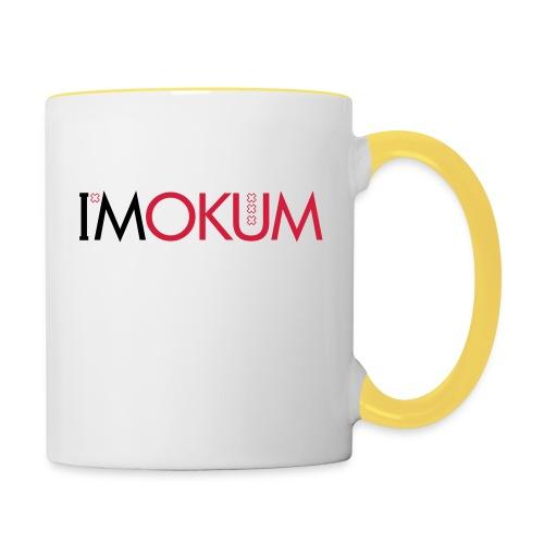 I'Mokum, Mokum magazine, Mokum beanie - Mok tweekleurig