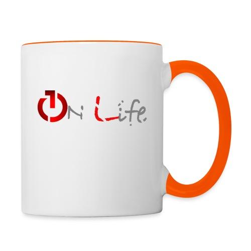 OnLife Logo - Mug contrasté
