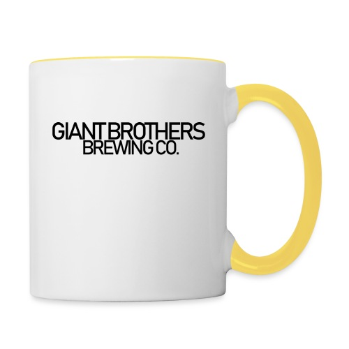 Giant Brothers Brewing co SVART - Tvåfärgad mugg